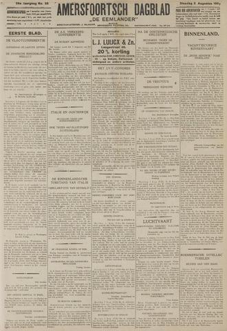 Amersfoortsch Dagblad / De Eemlander 1927-08-02