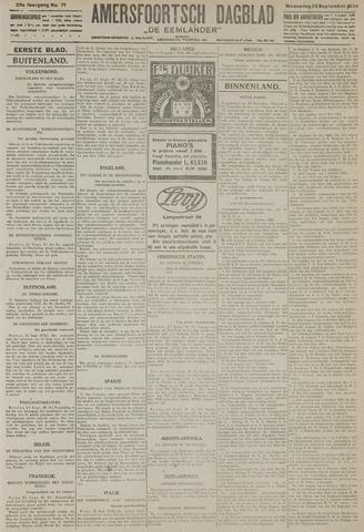 Amersfoortsch Dagblad / De Eemlander 1926-09-22
