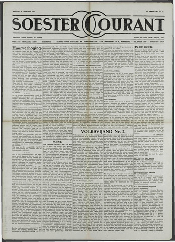 Soester Courant 1957-02-08