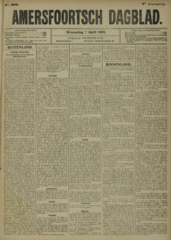 Amersfoortsch Dagblad 1909-04-07