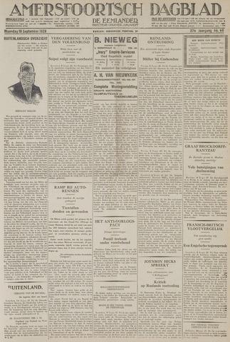 Amersfoortsch Dagblad / De Eemlander 1928-09-10