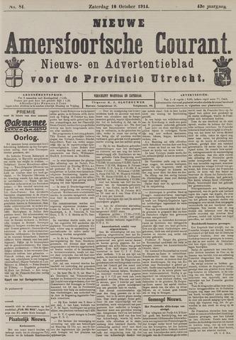 Nieuwe Amersfoortsche Courant 1914-10-10