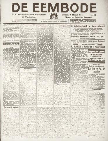 De Eembode 1926-03-09
