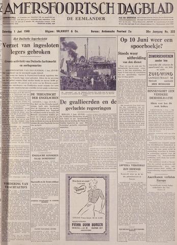 Amersfoortsch Dagblad / De Eemlander 1940-06-01