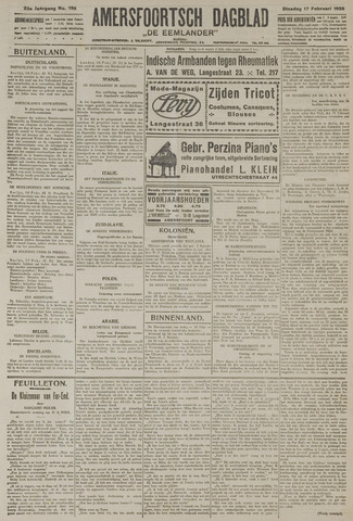 Amersfoortsch Dagblad / De Eemlander 1925-02-17