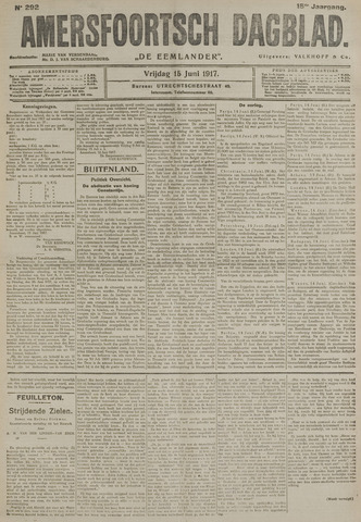 Amersfoortsch Dagblad / De Eemlander 1917-06-15