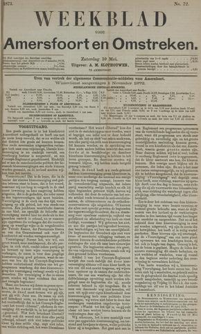 Weekblad voor Amersfoort en Omstreken 1873-05-10