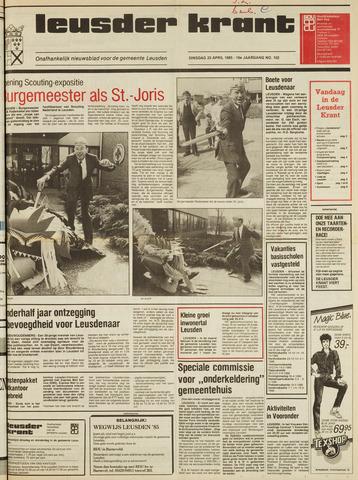 Leusder Krant 1985-04-23