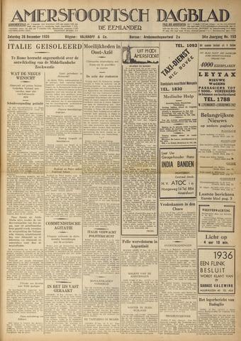 Amersfoortsch Dagblad / De Eemlander 1935-12-28