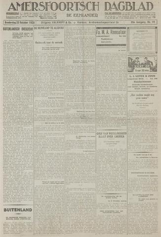 Amersfoortsch Dagblad / De Eemlander 1930-10-23
