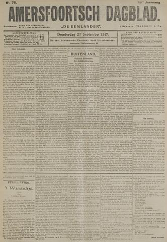 Amersfoortsch Dagblad / De Eemlander 1917-09-27