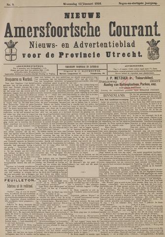 Nieuwe Amersfoortsche Courant 1910-01-12
