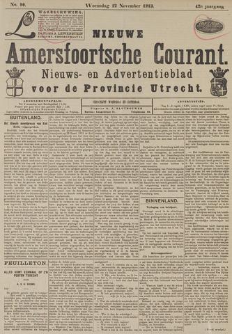 Nieuwe Amersfoortsche Courant 1913-11-12
