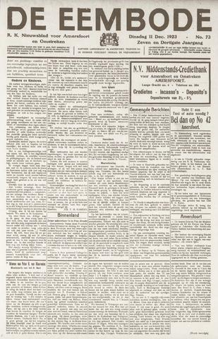 De Eembode 1923-12-11