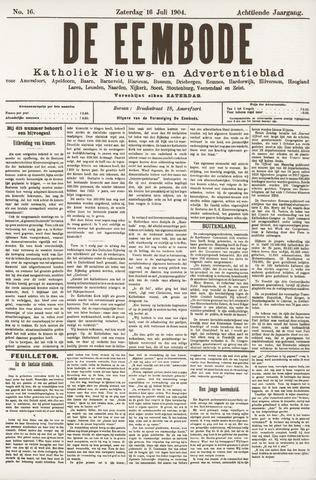 De Eembode 1904-07-16