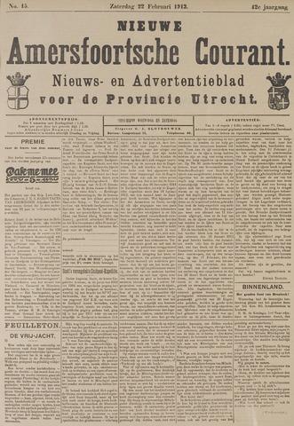 Nieuwe Amersfoortsche Courant 1913-02-22
