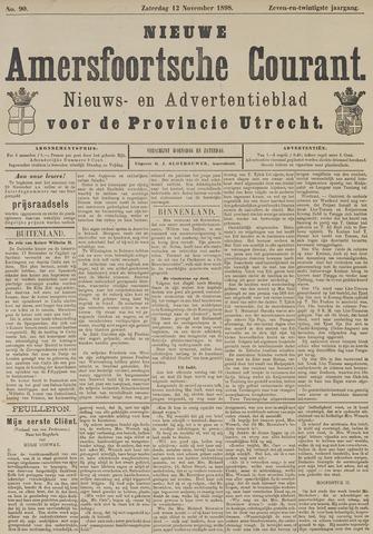 Nieuwe Amersfoortsche Courant 1898-11-12