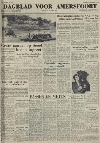 Dagblad voor Amersfoort 1950-09-20