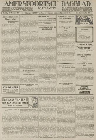 Amersfoortsch Dagblad / De Eemlander 1931-02-23