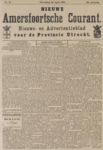 Nieuwe Amersfoortsche Courant 1913-04-30