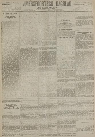 Amersfoortsch Dagblad / De Eemlander 1918-10-01