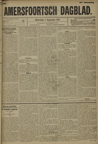 Amersfoortsch Dagblad 1911-08-07