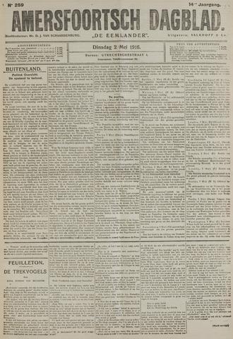 Amersfoortsch Dagblad / De Eemlander 1916-05-02