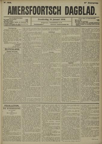 Amersfoortsch Dagblad 1908-01-30