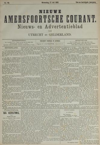 Nieuwe Amersfoortsche Courant 1892-07-27