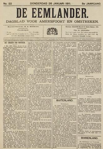 De Eemlander 1911-01-26