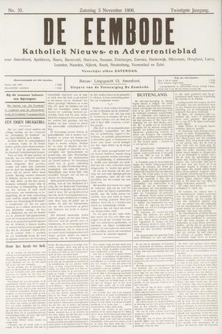 De Eembode 1906-11-03