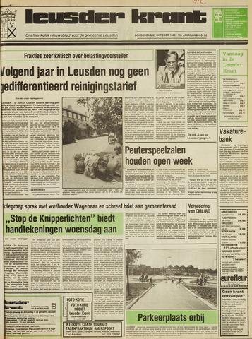Leusder Krant 1983-10-27