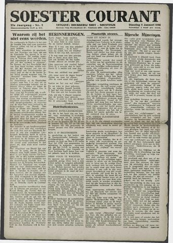 Soester Courant 1946-01-08