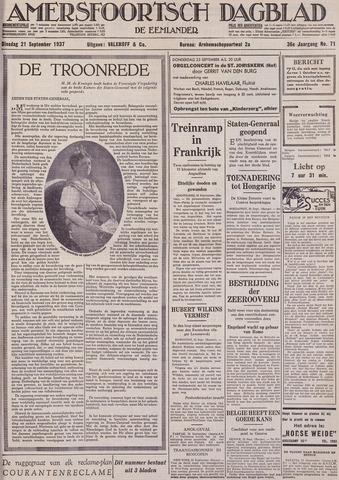 Amersfoortsch Dagblad / De Eemlander 1937-09-21