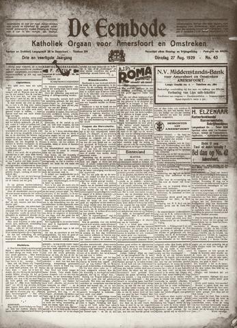 De Eembode 1929-08-27
