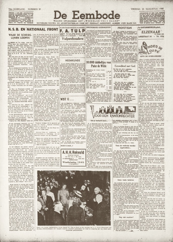 De Eembode 1940-08-23