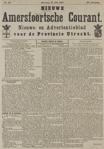 Nieuwe Amersfoortsche Courant 1917-07-21