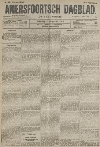 Amersfoortsch Dagblad / De Eemlander 1916-08-12
