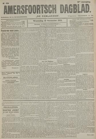 Amersfoortsch Dagblad / De Eemlander 1913-11-19