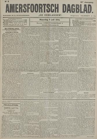 Amersfoortsch Dagblad / De Eemlander 1914-07-06