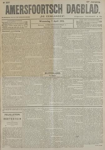 Amersfoortsch Dagblad / De Eemlander 1915-04-07