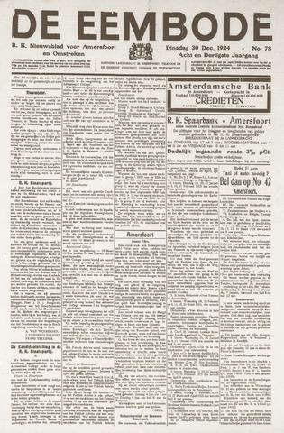 De Eembode 1924-12-30