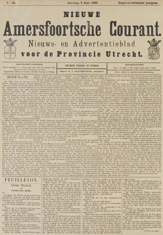 Nieuwe Amersfoortsche Courant 1900-06-09