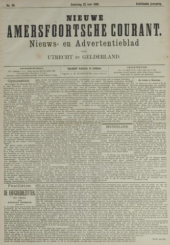 Nieuwe Amersfoortsche Courant 1889-06-22