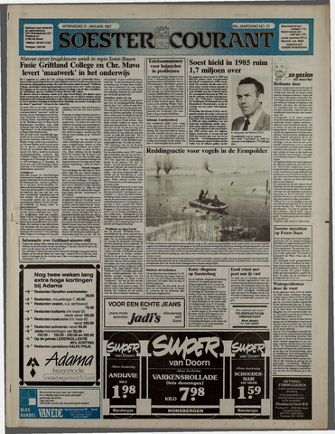 Soester Courant 1987-01-21