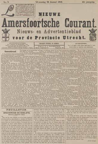Nieuwe Amersfoortsche Courant 1916-01-26