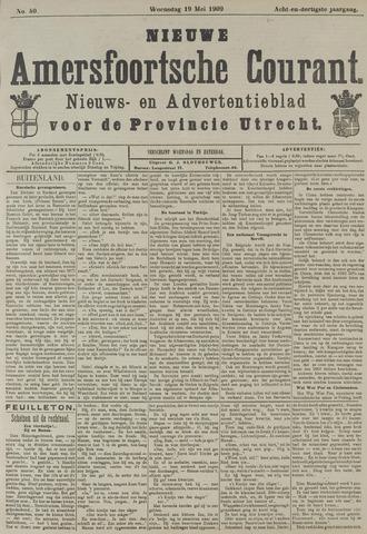 Nieuwe Amersfoortsche Courant 1909-05-19