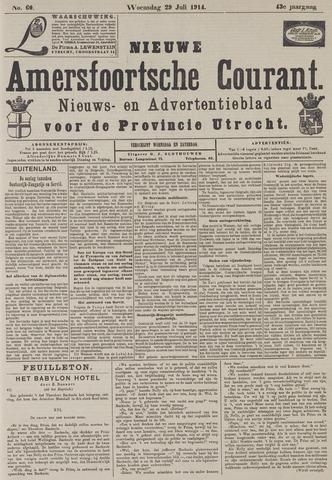 Nieuwe Amersfoortsche Courant 1914-07-29
