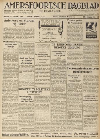 Amersfoortsch Dagblad / De Eemlander 1940-11-23