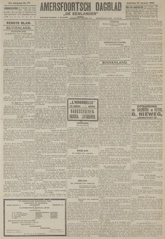 Amersfoortsch Dagblad / De Eemlander 1923-01-27